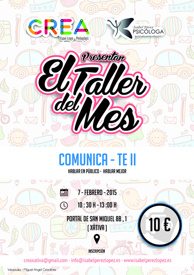 Taller del mes… COMUNICA-TE-II